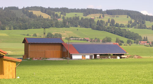 A Rural German Solar Installation