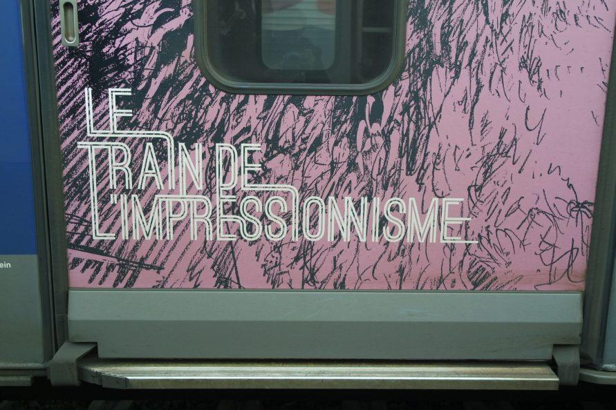 Train festival impressionniste