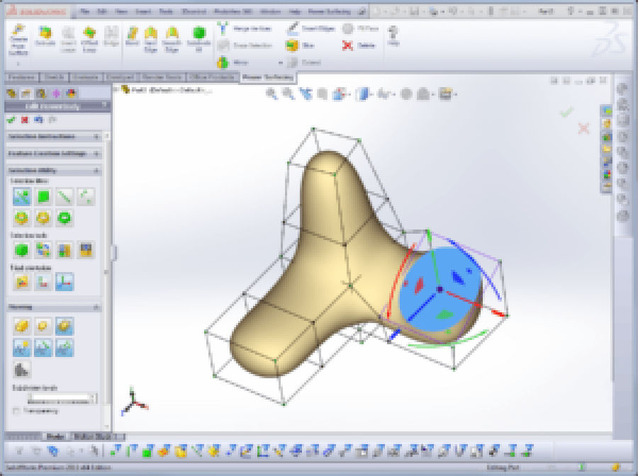 Un-real 3d - SolidWorks Corsi - Power Surfacing for SolidWorks - Freeform Organic Shape for SolidWorks_03