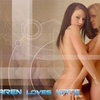 Karen Loves Kate : Holding