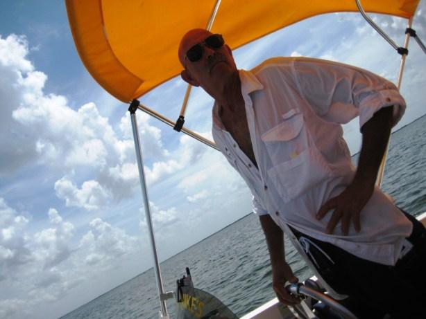 Capt. Mike of Sunshine River Tours, Crystal River, Fla.