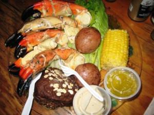 Stone Crabs, Peace River Seafood, Punta Gorda, Fla.