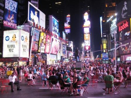 Times Square, New York at 11:30 at night