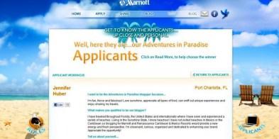 Marriott's Adventures in Paradise Blogging Contest