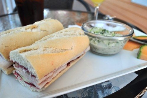 Lunch at Closer to the Vine, Punta Gorda, Fla.
