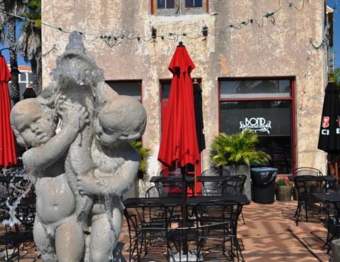 Bond Restaurant in the Herald Building in Historic Burns Square, Sarasota, Fla