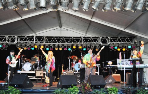 The Band Yesterdayze Rocked Out '60s Tunes at the Florida State Fair