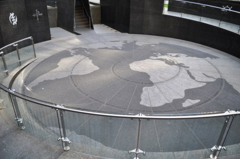 African Burial Ground National Monument, NYC, April 17, 2012