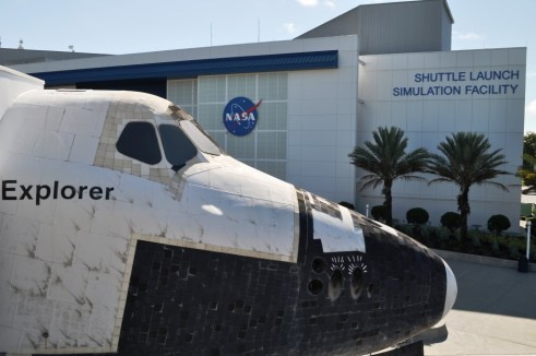 Go Inside a Simulated Space Shuttle at the Kennedy Space Center