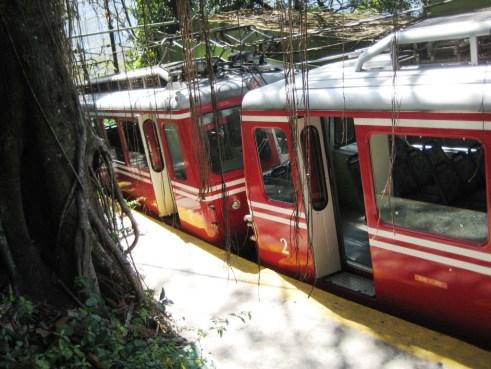 Take the Corcovado Railway Up the Mountain and Through Tijuca National Park, Rio de Janeiro, Brazil