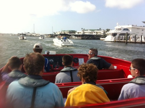 The Jet Boat Tour with Pure Naples Ain't Your Ordinary Boat Cruise
