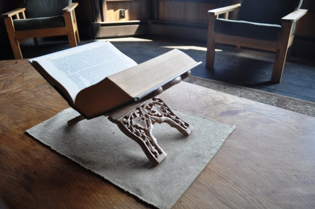 Serene Sitting Area at he Abbey of the Genesee, Piffard, N.Y.