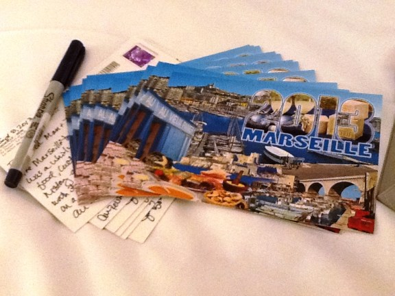 SoloTravelGirl.com's Postcard of the Month Club is Taking a Sabbatical: Cards from Marseille, France