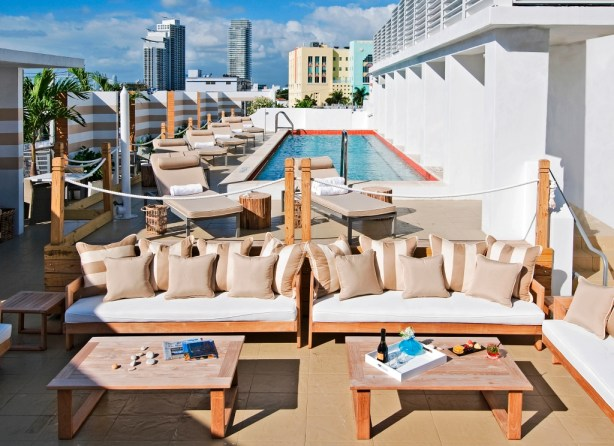 Can You Picture Yourself Atop this Rooftop Pool at Sense Beach House in Miami Beach?