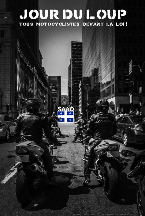 Jour du loup : Tous motocyclistes devant la loi
