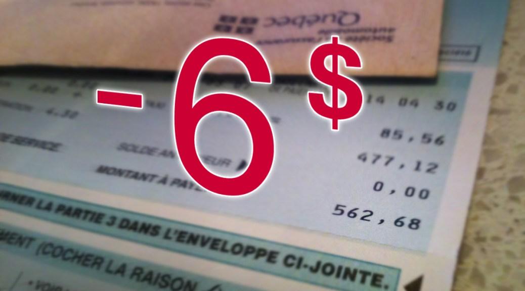Une réduction moyenne de 6$ de la SAAQ sur la facture des motocyclistes