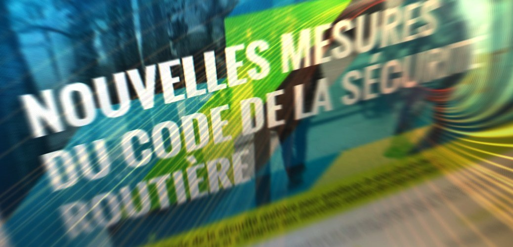 Nouvelles medures du code de la route du Québec