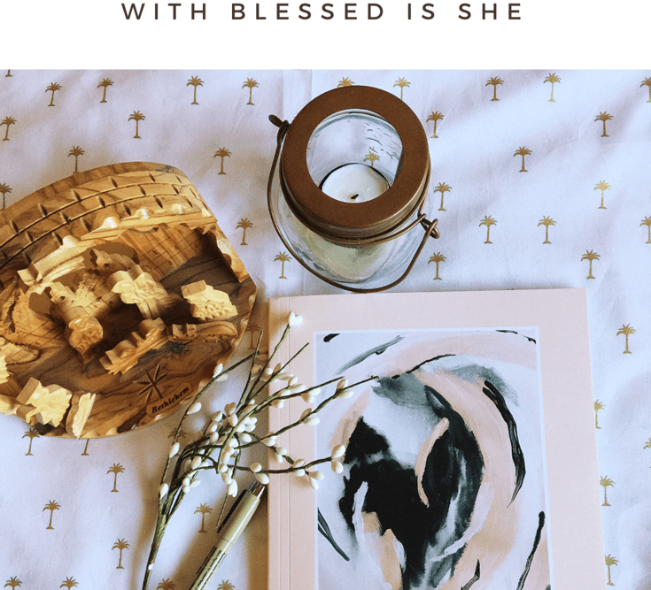 It's Here! The Long-Awaited Blessed Is She Advent Journal