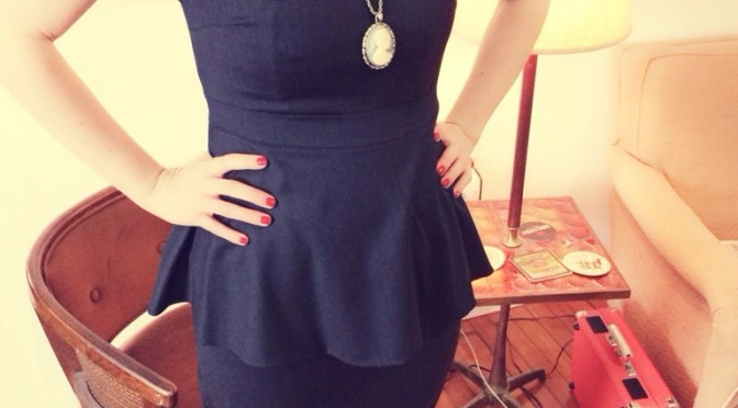 Copycat Peplum dress