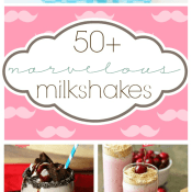 50+ Milkshake Recipes | www.somethingswanky.com
