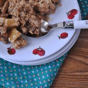 Cinnamon Burst Apple Crisp  #apples #recipe