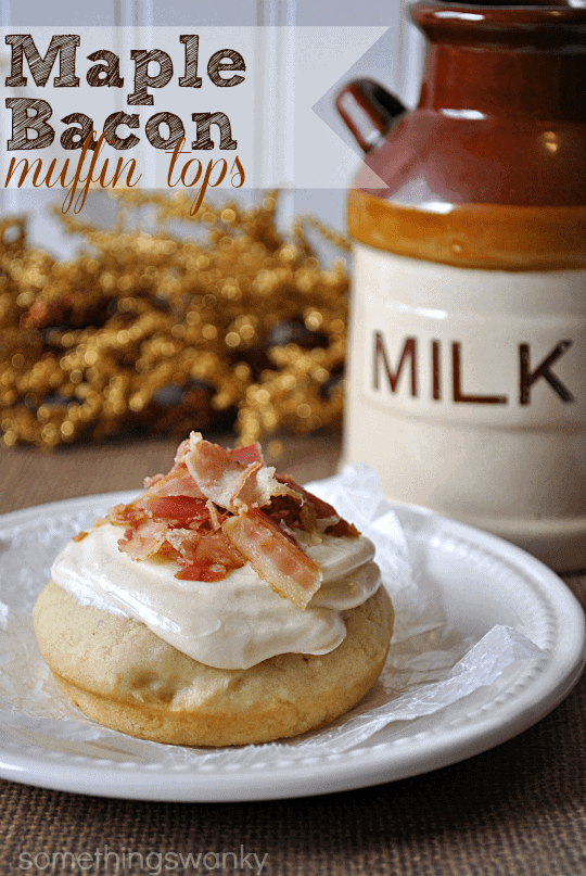 Maple Bacon Muffin Tops #breakfast #recipe #bacon