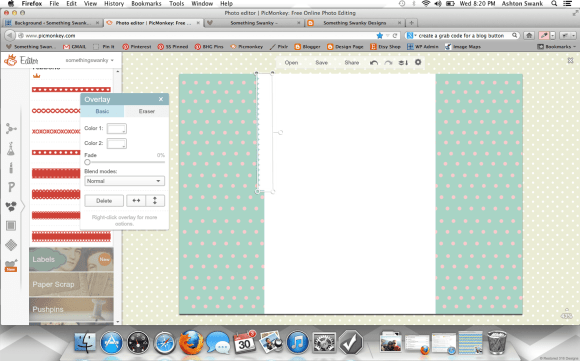How to Create a Custom Blog Background using #picmonkey