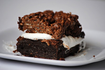 Killer Crunch Brownies