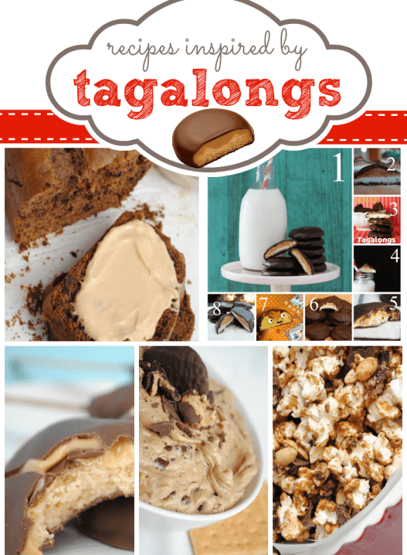 Recipes Inspired by Tagalong Cookies at www.somethingswanky.com #tagalongs #recipes