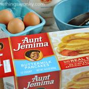Aunt Jemima's Lil Griddles #AjLilGriddlesCG #Spon