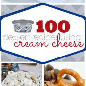 100 Dessert Recipes Using Cream Cheese | www.somethingswanky.com
