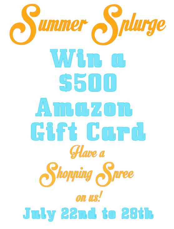 Win a $500 Amazon Gift Card!