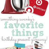 Birthday Giveaway at www.somethingswanky.com
