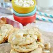 White Chocolate Macadamia Nut Cookies | www.somethingswanky.com