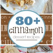 80+ Cinnamon Dessert Recipes at www.somethingswanky.com