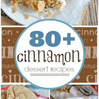 80+ Cinnamon Dessert Recipes at www.somethingswanky.com