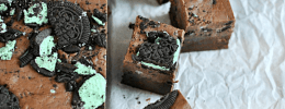 Special Dark Chocolate Mint Truffle Oreo Fudge | www.somethingswanky.com