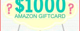 1000 Amazon Giveaway Pic