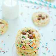 New Favorite Cake Mix Cookies | www.somethingswanky.com
