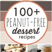 100+ Peanut Free Desserts | www.somethingswanky.com