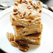 Butterscotch Blondies are buttery delicious and so easy to make!