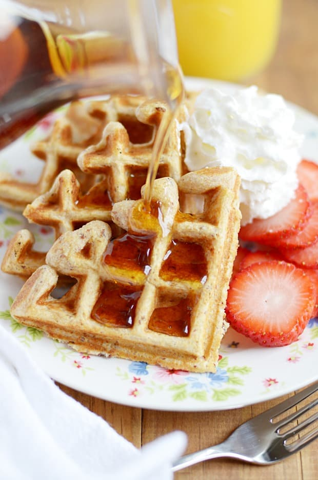 Multigrain Waffles - Something Swanky