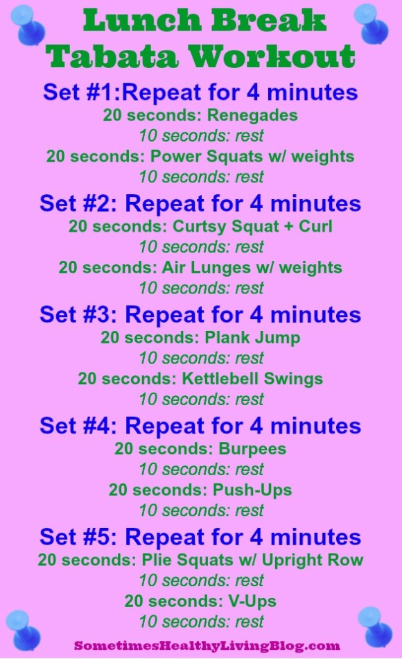 Tabata Workout 1