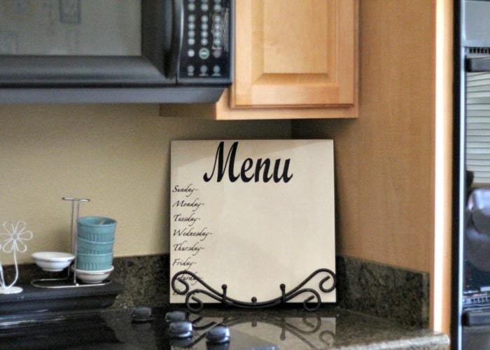 tiled menu board 1
