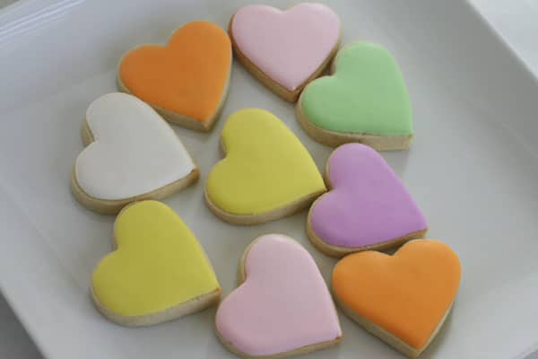 conversation heart cookies 3