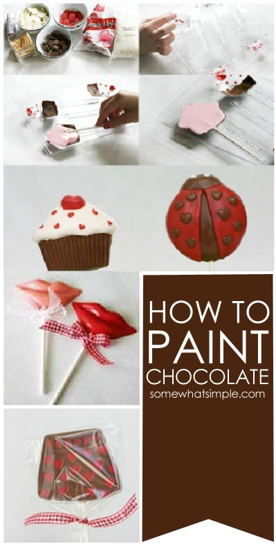 paint chocolate