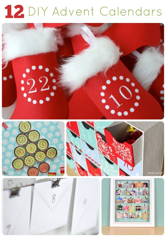12 diy advent calendar ideas