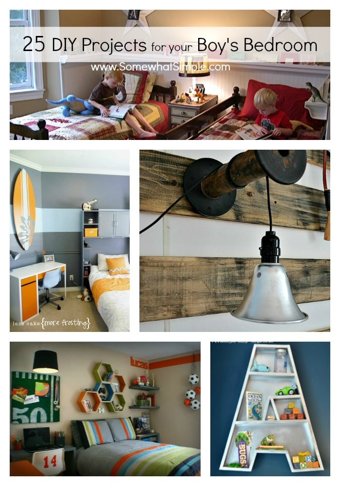 boys bedroom projects