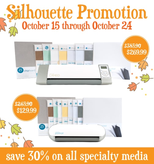 Down right CHEAP Silhouette promotion deal through somewhatsimple.com