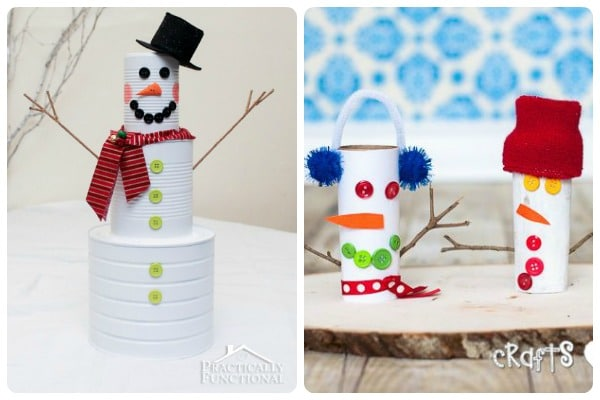 Snowman Treats and Crafts 1
